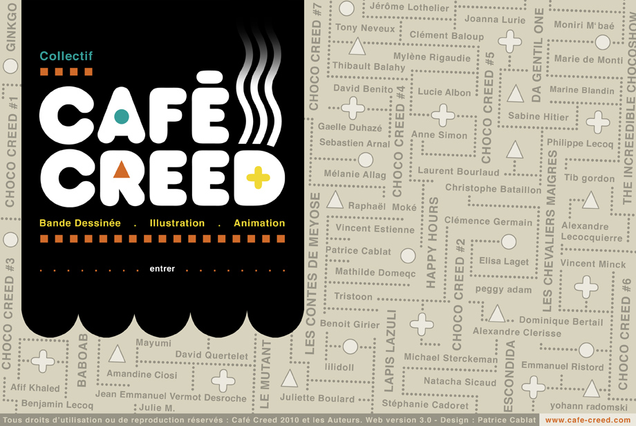 WWW.CAFE-CREED.COM - Collectif d'Auteurs - Bd Jeunesse - CHOCO CREED
